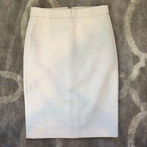 "J. Crew Beige ""No. 2 Pencil"" Knee Length Skirt"